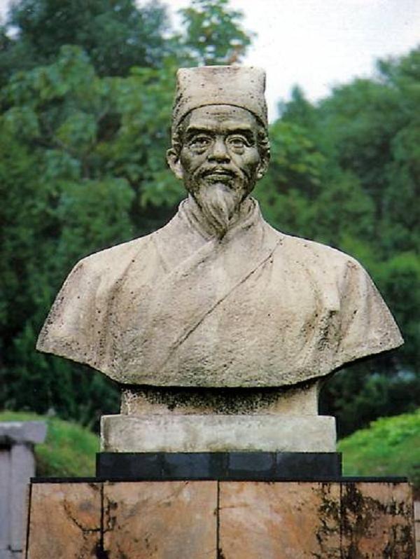 朱丹溪石雕像