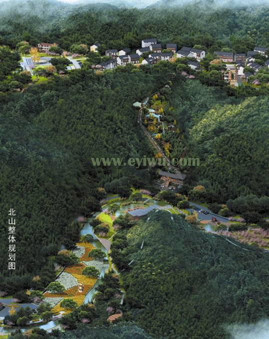 义乌北山村-规划图