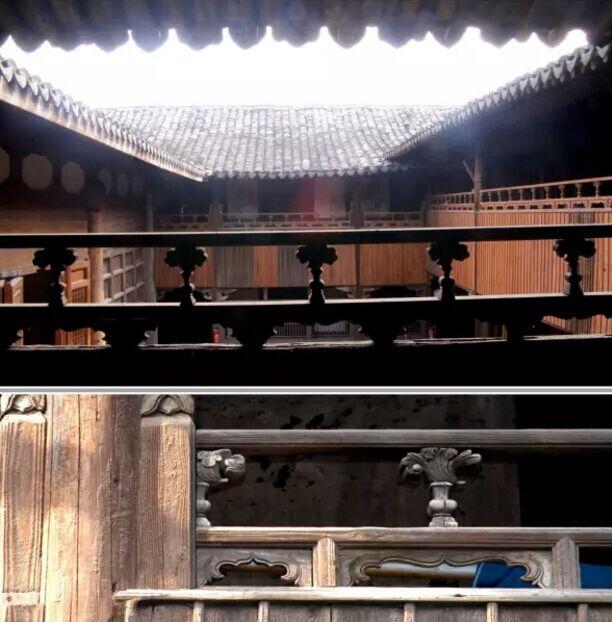 官厅外檐寻杖式栏杆 明万历年间