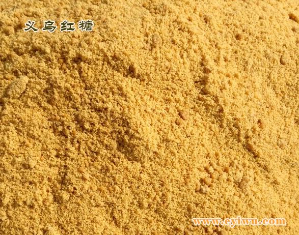 义乌红糖(有少量的小苏打)