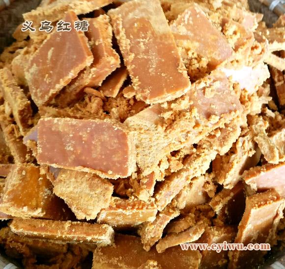 义乌红糖:块塘(无小苏打)